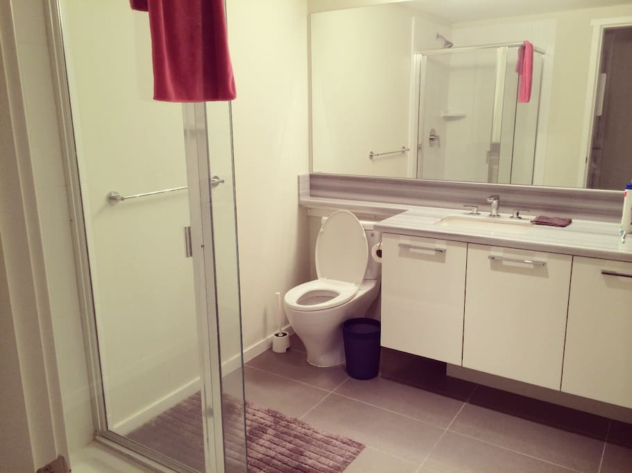 Private LARGE bathroom