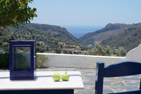 Kalamos - great view & quiet location