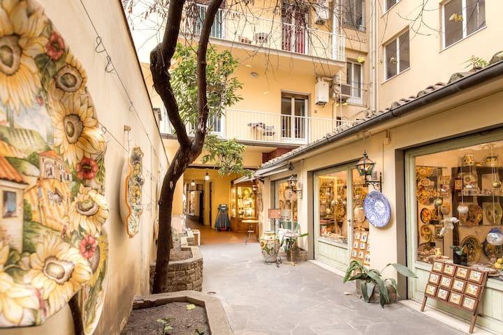historical apartment ponte vecchio - Florence - Appartement