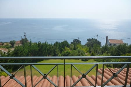 A unique view of Aegean sea - House