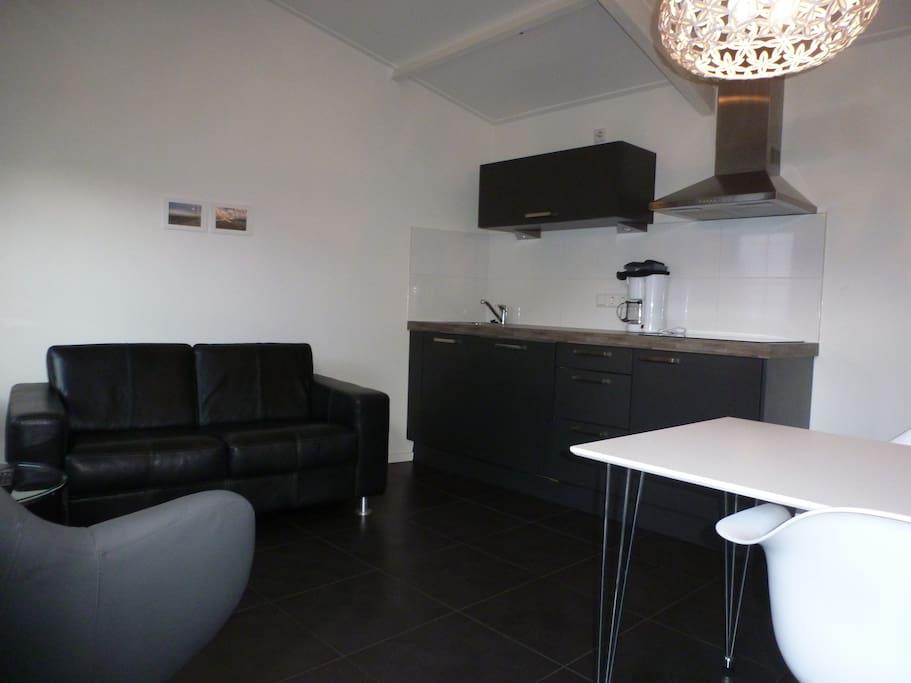 modern sfeervol tuinhuis wohnungen zur miete in domburg zealand niederlande. Black Bedroom Furniture Sets. Home Design Ideas