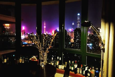 Super view Queen Room at heart XinTianDi - Huangpu黄浦区