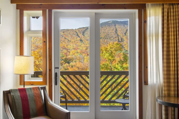 3rd Floor Mansfield Views from this lovely Ridgeline Studio @ The Lodge at Spruce Peak!