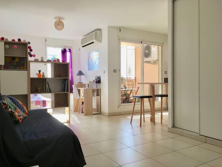 Studio calme et cosy à Saint-Denis