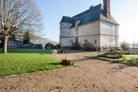 Suite dans Manoir des Rocques - Villequier - Bed & Breakfast