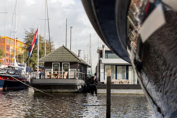 BOOTHUISJE MIDDEN IN DE STAD - Groningen - Boat