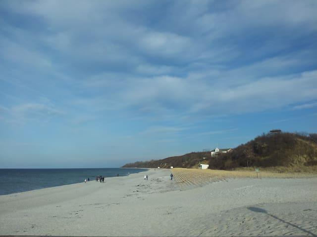Ostseestrand in 7 min zu Fuß erreichbar- perfekt für Familien und Paare