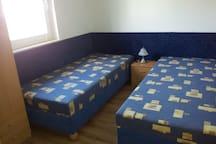 Das Schlafzimmer für die Kinder.