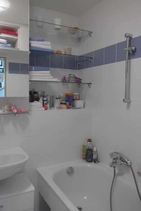 Bathroom and toilette