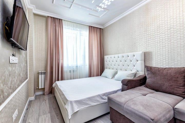 Уютные квартира в центре левого берега Нур-султана