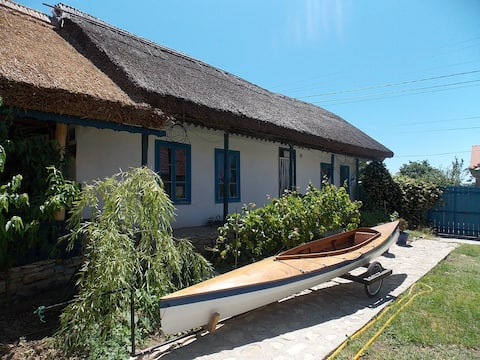 Traditional house in Danube Delta