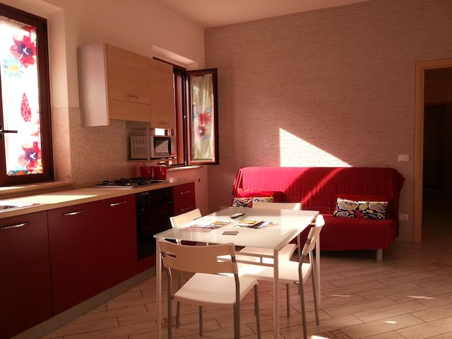 WHIRLPOOL, FREE WIFI AND BIKE - Capo d'Orlando - Appartement