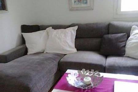 Apartamento, piscina, jardín, playa - Alcaufar - Huis