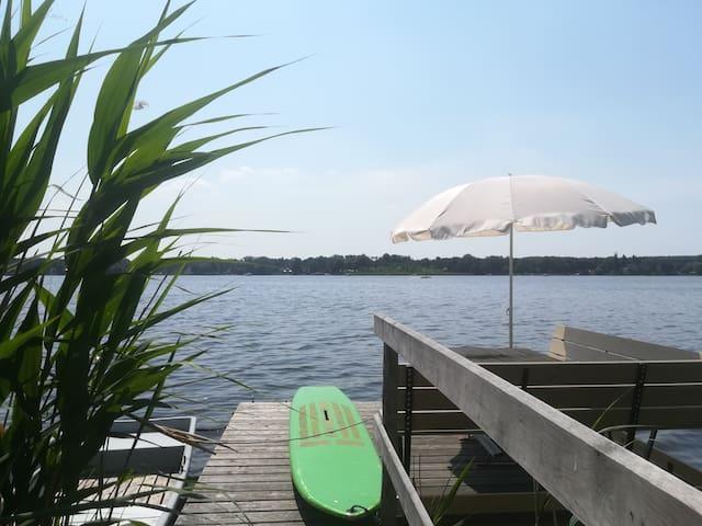 Ferienwohnung am See - eigener Steg