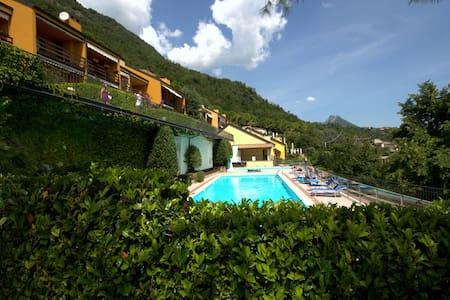 Panoramic house on Garda lake  - Toscolano-maderno