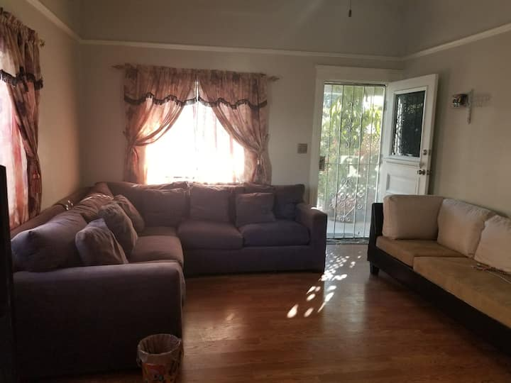 Our home in Lincoln heights