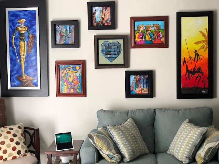 Modern Comfy Studio 30min from Manhattan- Basement