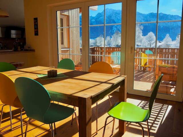 helles Esszimmer (bright dinning room)