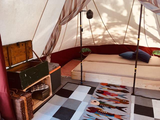 Glamping (2pers tent plek 63) Camping Dijk en Meer