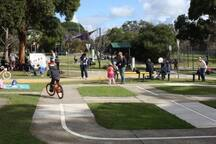 Campbelltown Bicycle Education and Road Safety Centre.
