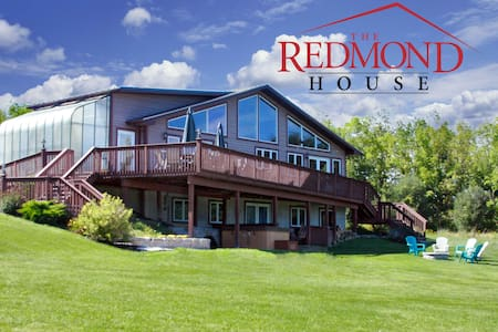 Redmond House by Letchworth State Park - Ház