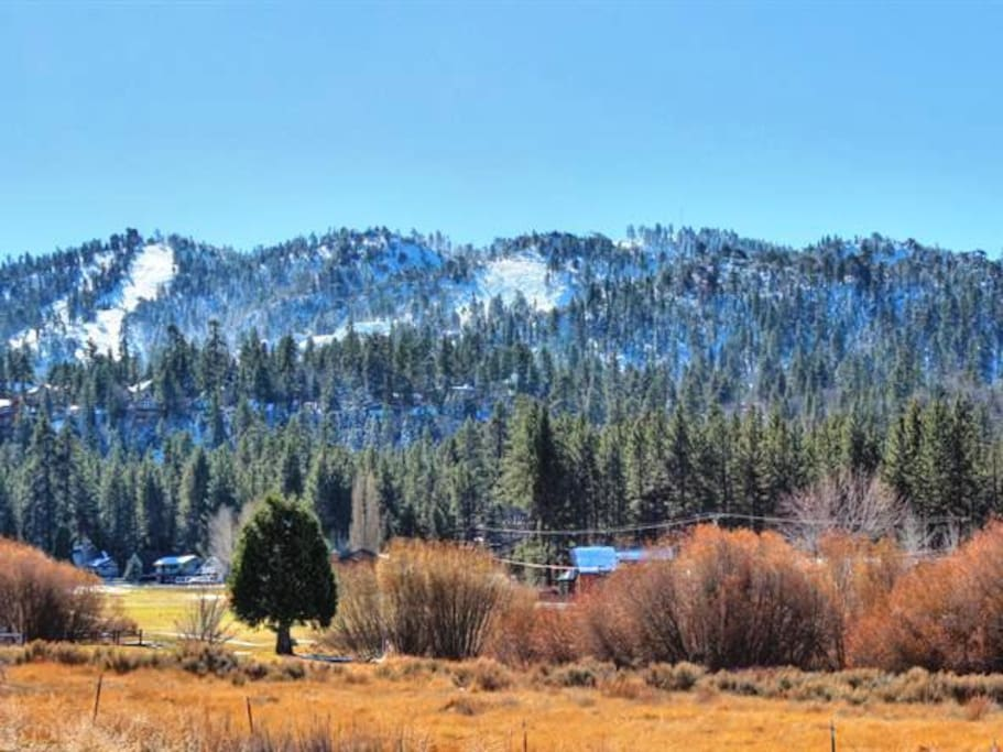 Great views of Bear Mountain.