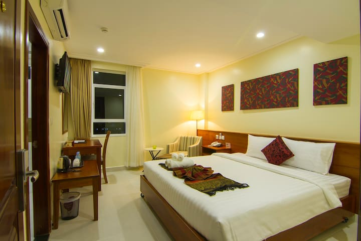 Deluxe Double with free breakfast - Phnom Penh - Wohnung