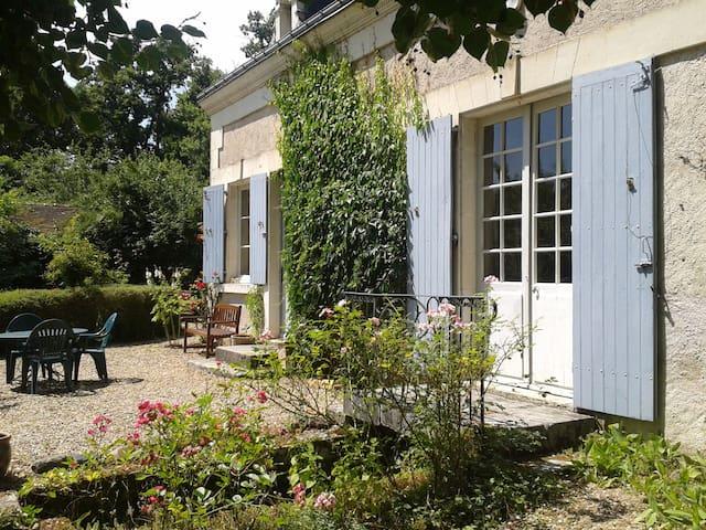 Gite de charme 3* et vaste jardin : La Soupiquerie - Preuilly-sur-Claise - House