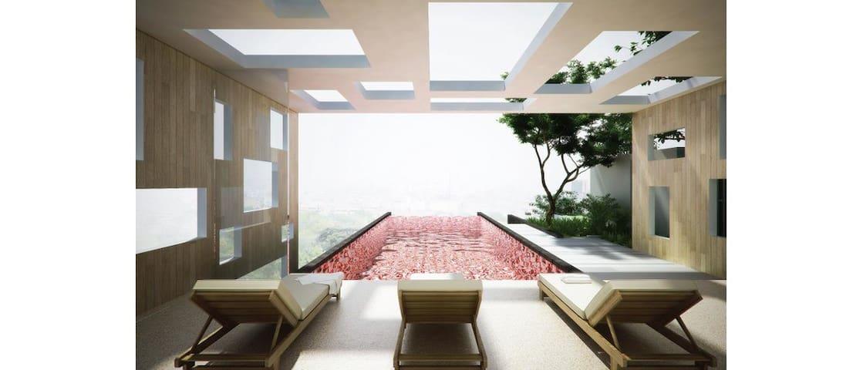 1 bedroom + roof top swimming pool