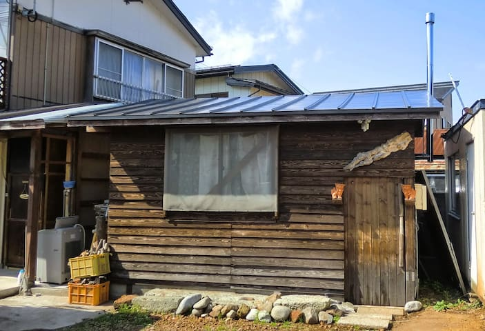 Farmer's Self build little cottage - Murayama - Ev