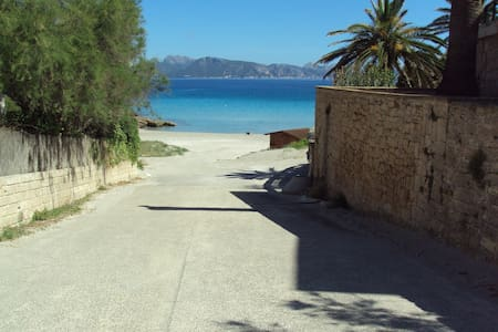 BEACH HOUSE IDEAL FOR CHILDREN - Alcúdia
