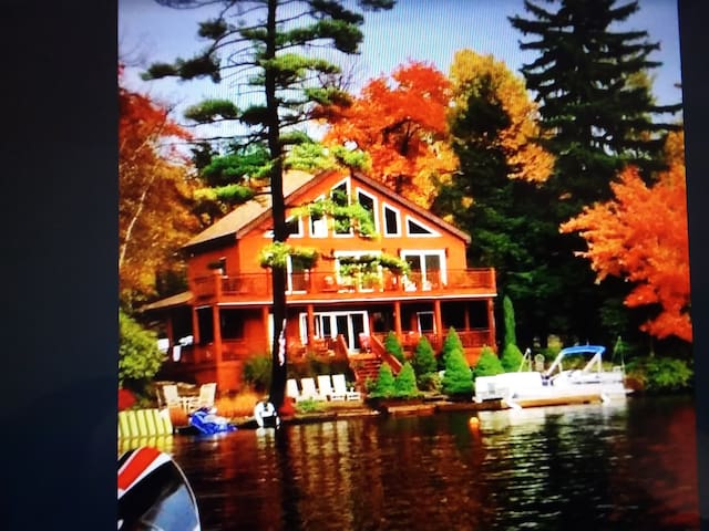 Lake Front House 18% discounts for Weekly Rental