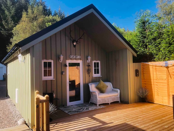 💚AntlerCabin   'Cosy Highland Stay' Self CheckIn