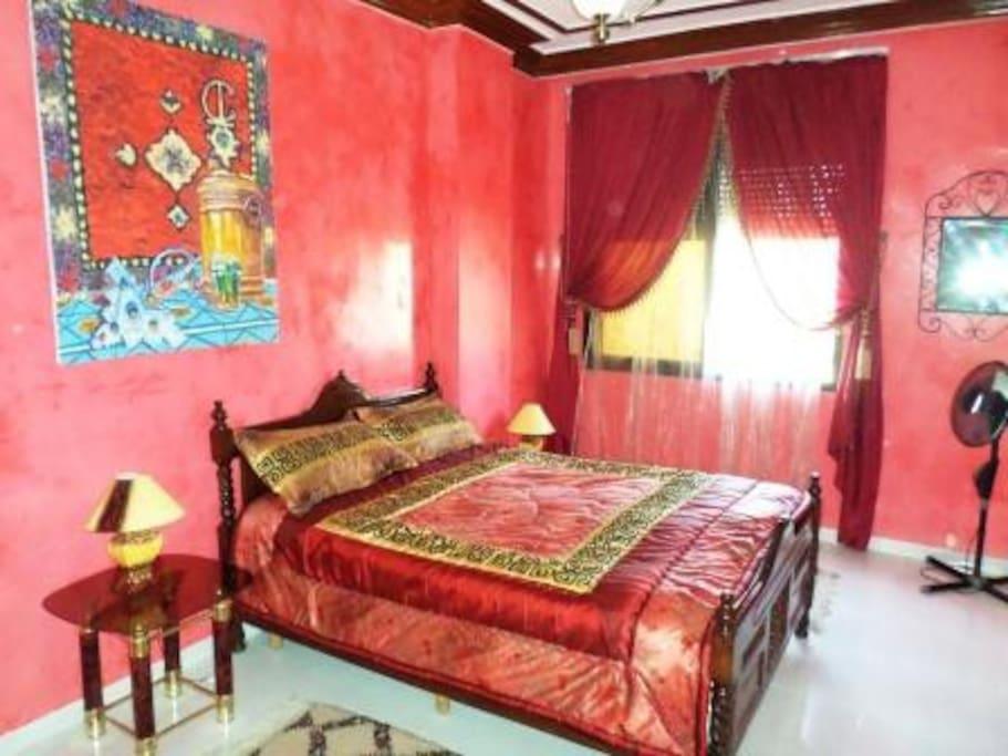 Huge Master Bedroom for two