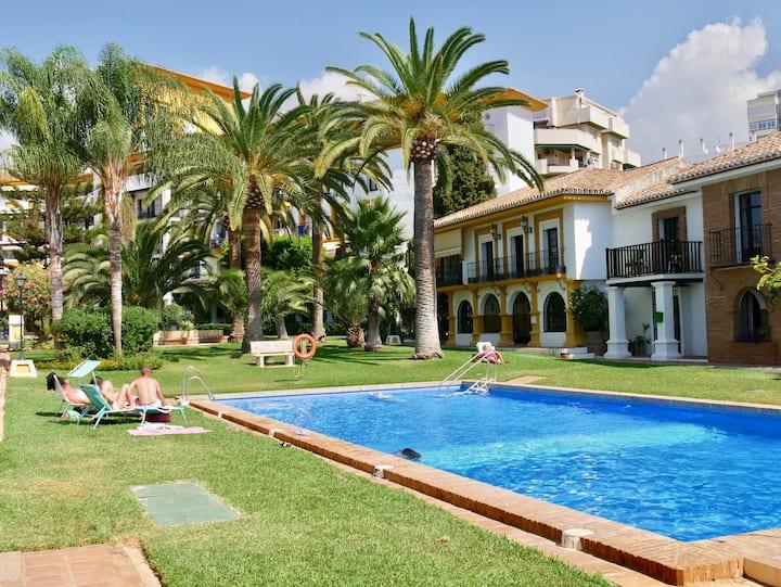 Gran chalet familiar en Fuengirola con piscina