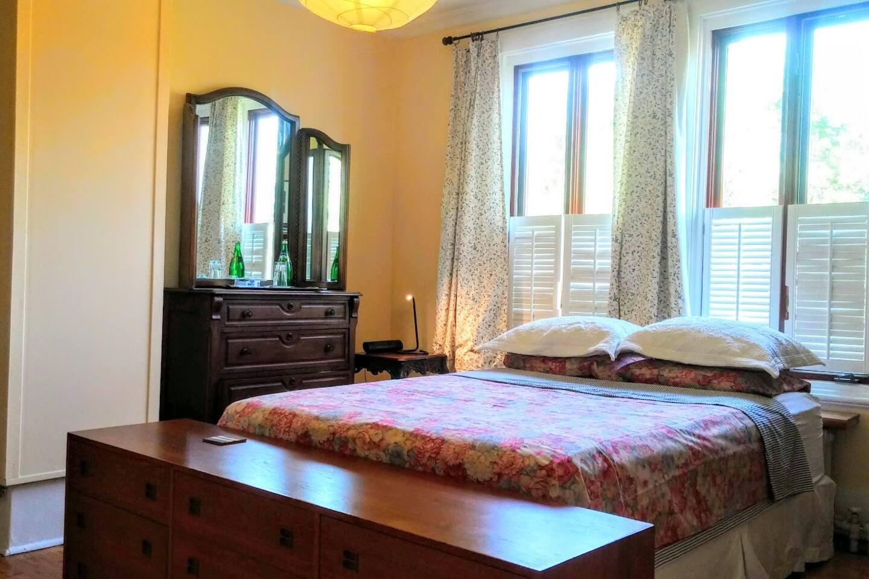 Light-filled bedroom
