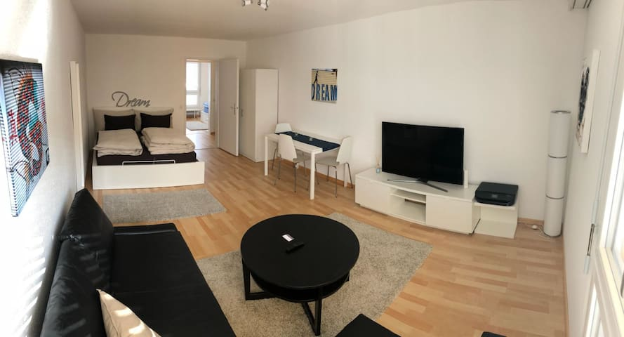 Great 2 rooms, 2 beds Studio in Zurich center #507