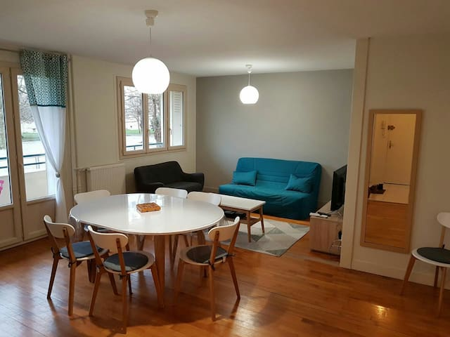 Beautiful spacious apartment - Troyes - Apartemen