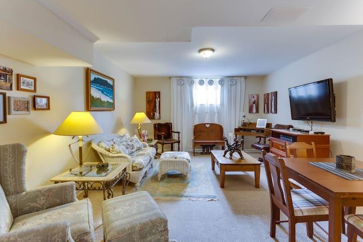2 BR Basement apartment - UBUNTU - Charlottesville - Huis