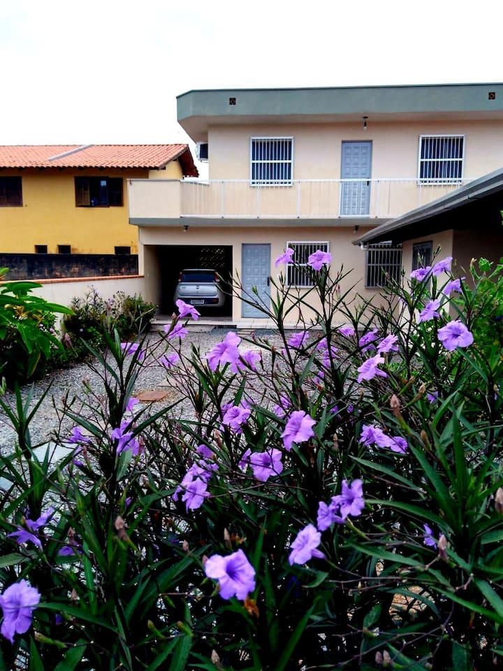 Frente da casa - Front of the house
