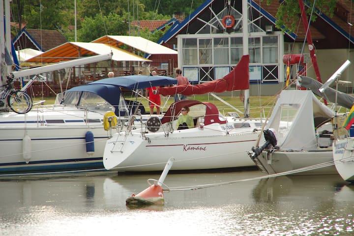 Yacht at Nida Marina