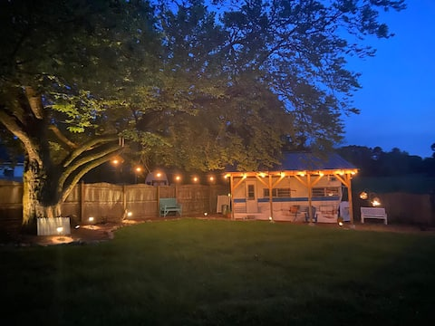 Vintage Camping on the Farm