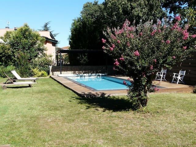 Maison avec piscine aux portes de Toulouse - Gagnac-sur-Garonne - Casa