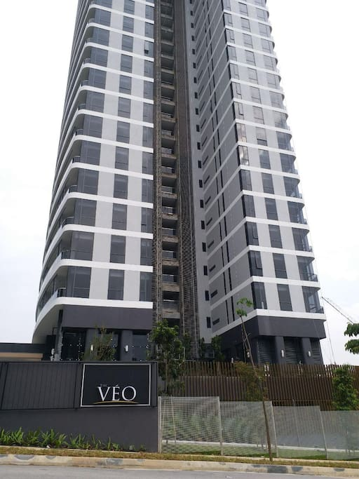 Entrance of The Veo @ KL East