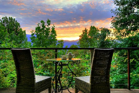 Birches Luxury Spa Chalets:Romantic Couples Escape - Tawonga South - Chalet