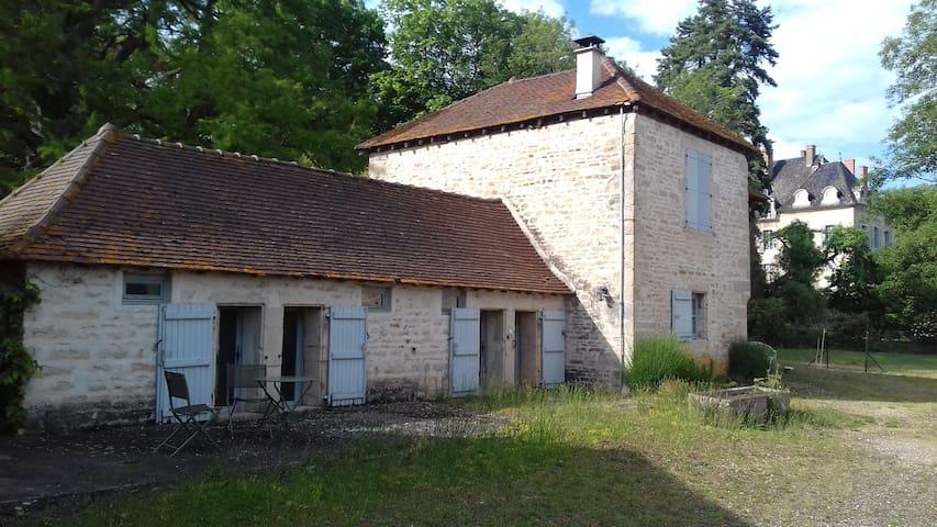 Chambre privée Château de la Ferté