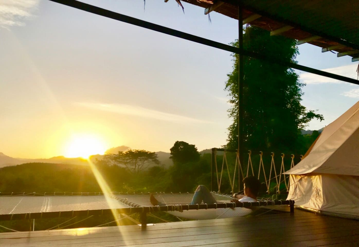 Enjoy the best and private sunset everyday.