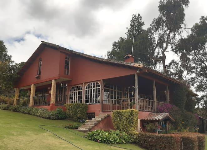 FINCA GUASCA, Casa de descanso, hermosa vista