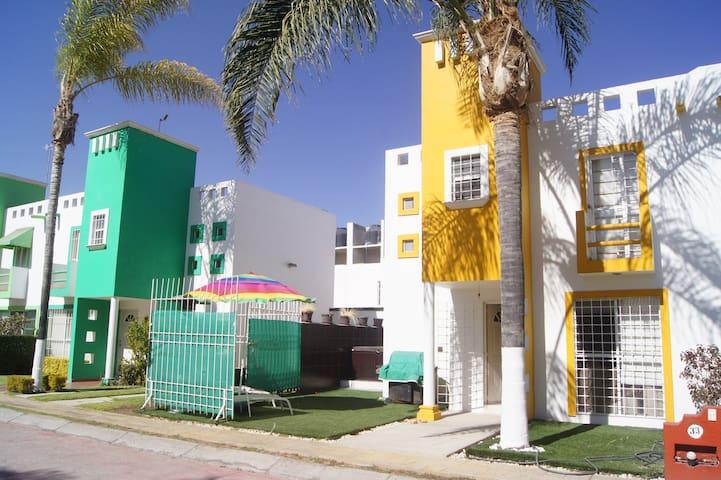 Casa St. Juan del Rio Alberca, Jacuzzi Área Jardin