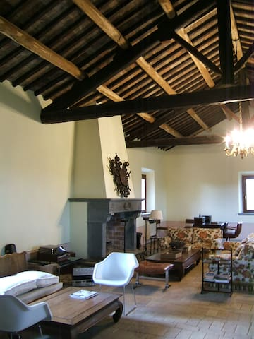 Il GRANAIO. Charming villa sleeping 14 - montefiascone - House